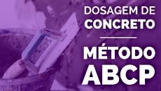 Curso de Dosagem de Concreto ABCP